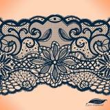 Абстрактный орнамент шнурка Стоковые Фото