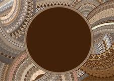 абстрактный орнамент Стоковые Фотографии RF