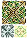 Кельтский квадрат Стоковые Фото