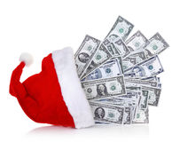 абстрактный доллар кредиток предпосылки финансовохозяйственный Стоковые Фотографии RF