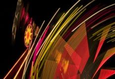Абстрактный парк атракционов Стоковые Фотографии RF