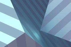 Абстрактный перевод 3D геометрических форм Стоковые Фото