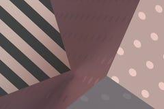 Абстрактный перевод 3D геометрических форм Стоковые Изображения