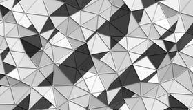 Абстрактный перевод 3D полигональной предпосылки Стоковое Изображение