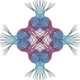 абстрактный перекрестный элемент Стоковое Изображение