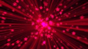 абстрактный пинк предпосылки Звезда взрыва цифров Стоковая Фотография RF