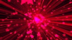 абстрактный пинк предпосылки Звезда взрыва цифров Стоковое Изображение RF