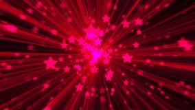 абстрактный пинк предпосылки Звезда взрыва цифров Стоковое Изображение