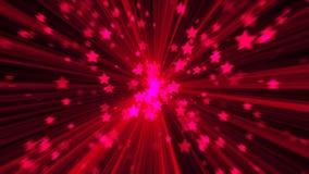абстрактный пинк предпосылки Звезда взрыва цифров Стоковые Фотографии RF