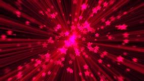 абстрактный пинк предпосылки Звезда взрыва цифров Стоковое фото RF