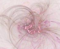 абстрактный пинк предпосылки swirly Стоковые Фото