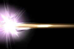 Абстрактный пирофакел освещения Стоковое Изображение RF