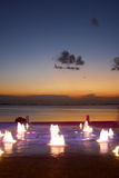 абстрактный пляж Стоковые Изображения