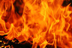 абстрактный пожар предпосылки Стоковые Изображения RF