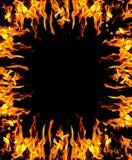 абстрактный пожар предпосылки Стоковые Изображения