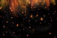 абстрактный пожар принципиальных схем предпосылки футуристический улучшает стоковое изображение rf