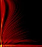 абстрактный пожар принципиальных схем предпосылки футуристический улучшает Стоковая Фотография