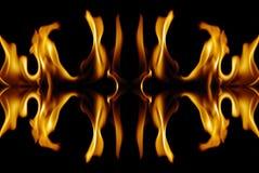 абстрактный пожар Стоковое Изображение