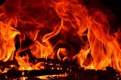 абстрактный пожар Стоковое Фото