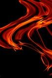 абстрактный пожар Стоковое Изображение RF