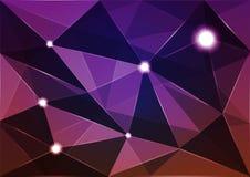 Абстрактный полигон предпосылки Стоковая Фотография