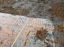 Абстрактный пол затопил водой после тяжелого шторма стоковые изображения
