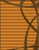 абстрактный помеец коричневого цвета предпосылки Стоковое Изображение