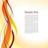 абстрактный померанцовый шаблон Стоковая Фотография RF