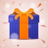 абстрактный подарок коробки Стоковое Фото