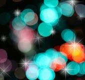 абстрактный предпосылки моргать пузырь Стоковая Фотография RF