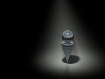 Абстрактный представляющ одиночество Стоковые Изображения RF