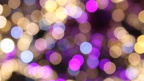 Абстрактный проблескивать светов акции видеоматериалы