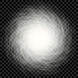 Абстрактный прозрачный спиральный водоворот на checkered предпосылке иллюстрация штока