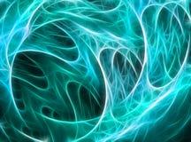 Абстрактный произведенный компьютер фрактали Стоковые Изображения
