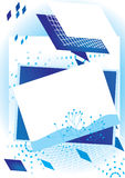абстрактный прямоугольник eps предпосылки иллюстрация штока