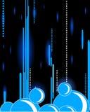 абстрактный пузырь предпосылки Стоковые Изображения RF
