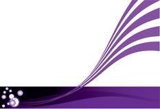 абстрактный пурпур Стоковое Изображение