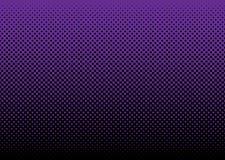 абстрактный пурпур halftone предпосылки Стоковая Фотография