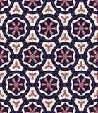 Абстрактный племенной винтажный этнический безшовный ornamental картины Стоковые Изображения RF