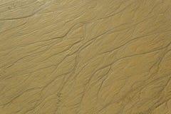 Абстрактный пляж песка Стоковые Изображения RF