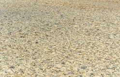 абстрактный пляж предпосылки струится желтый цвет текстуры песка Стоковое Изображение RF