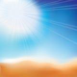 абстрактный пляж бесплатная иллюстрация