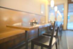 Абстрактный расплывчатый ресторан Стоковое Изображение