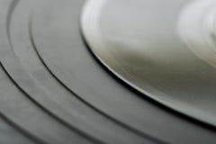абстрактный рекордный винил Стоковое фото RF