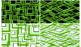абстрактный ретро квадрат Стоковое фото RF