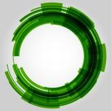 Абстрактный ретро круг технологии вектор Стоковые Фото