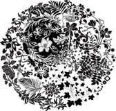 абстрактный сад Стоковые Изображения
