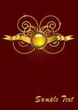 абстрактный сбор винограда вектора орнамента eps Стоковое Изображение RF
