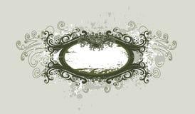 абстрактный сбор винограда знамени Стоковое Фото