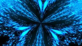 Абстрактный светлый калейдоскоп Безшовная петля акции видеоматериалы